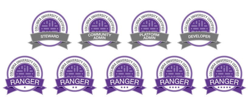University Certification Badges